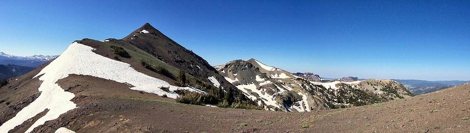 Airola Peak ridge
