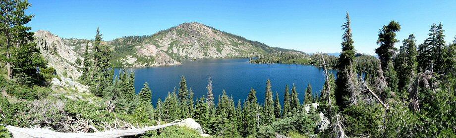 Long Lake and Mt Elwell