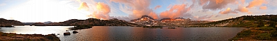 Thousand Island Lake sunrise