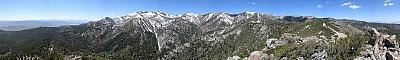 View from near the summit of Alpine Walk Peak