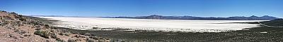 View of the Black Rock Desert