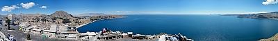 Lake Titicaca from Cerro Calvario