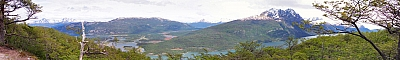 View of Lago Roca