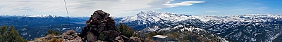 View from the summit of Desert Creek Peak