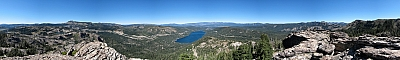 View from the summit of Donner Peak