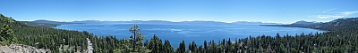 View of Lake Tahoe from Eagle Rock
