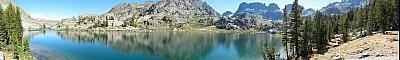 View of Ediza Lake