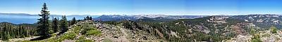 View from the summit of Ellis Peak