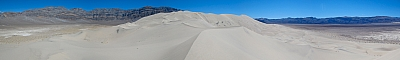 View of the Eureka Dunes