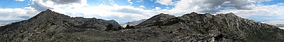 View from Favre Ridge