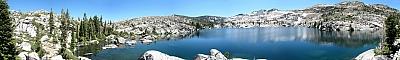 View of Fontanillis Lake