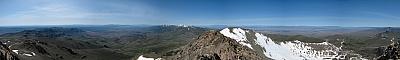 View from the summit of Granite Peak