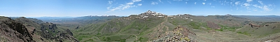 View from Hinkey Summit