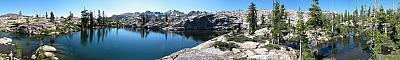 View of 'Lake 7040+'