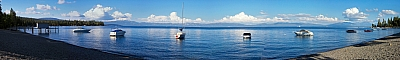 Lake Tahoe from Hurricane Bay