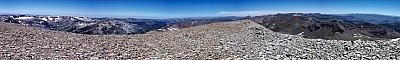 View from the summit of Leavitt Peak