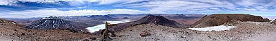 View from the summit of Licancabur