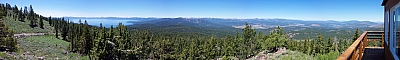 View from the Martis Peak fire lookout
