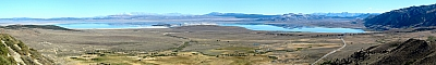 View of Mono Lake from Hwy 395