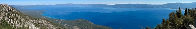 Lake Tahoe from the summit of 'Peak 9080+'