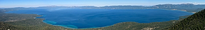 Lake Tahoe from the summit of 'Peak 9269'