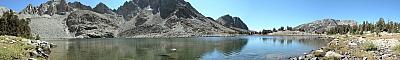 View of Pika Lake