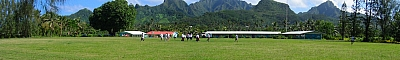 View of Rarotonga Football Field