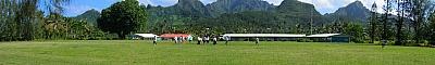 View of Rarotonga Football Field