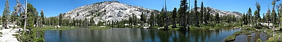 View of Sabre Lake