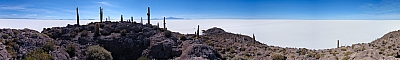 View of the Salar de Uyuni