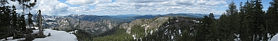 View from the summit of Scott Peak
