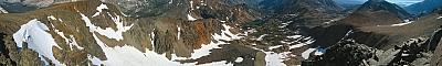 View from 'Slate Ridge Peak'