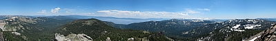 View from the summit of Twin Peaks