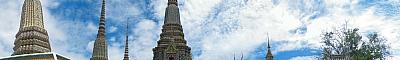 View of Wat Pho